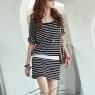 PRE-ORDER *Casual Pattern Short Sleeve Stripe*